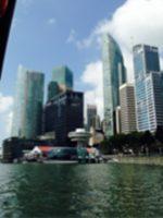 シンガポール金融街の様子