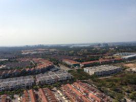 マレーシア・ジョホールバルの街並