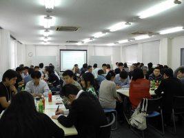 行動する大家さんの会では100人規模で集まるセミナー、勉強会を年に2~3回、それ以外の小規模な勉強会を不定期に開催、首都圏を中心に800人ほどが登録しているという