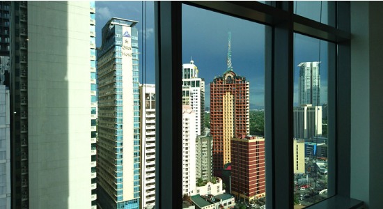 トランプ・タワーからの景色